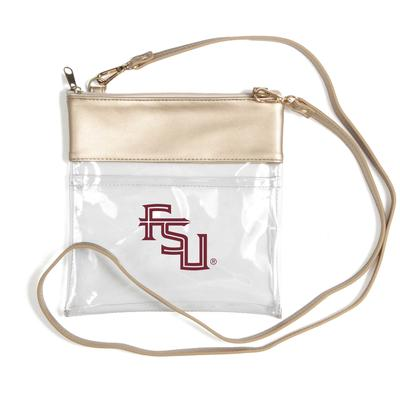 Florida State Clear Game Day Crossbody