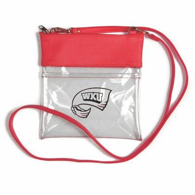 Western Kentucky Clear Game Day Crossbody