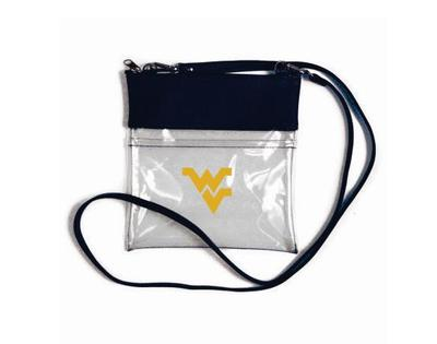 West Virginia Clear Game Day Crossbody