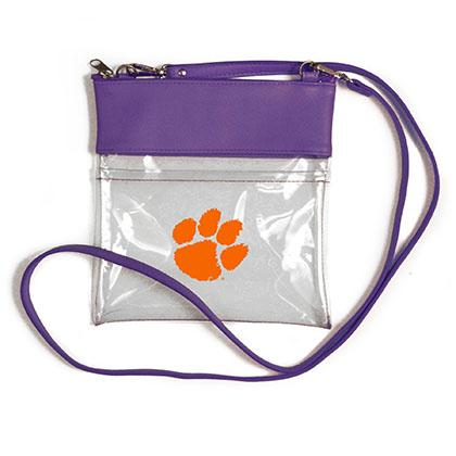 Clemson Clear Game Day Crossbody