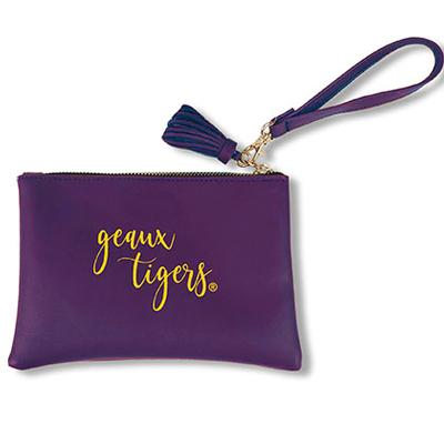 LSU Game Day Jen Wristlet