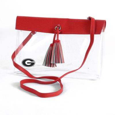 Georgia Game Day Clear Rara Purse
