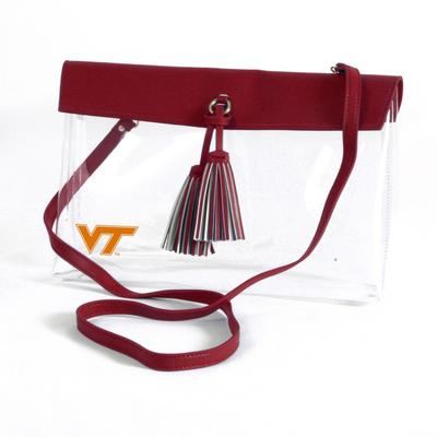 Virginia Tech Game Day Clear Rara Purse