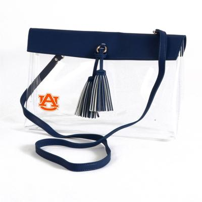 Auburn Game Day Clear Rara Purse