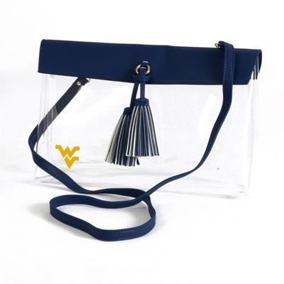 West Virginia Game Day Clear Rara Purse