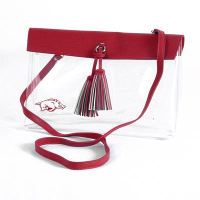 Arkansas Game Day Clear Rara Purse