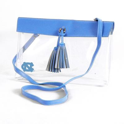 UNC Game Day Clear Rara Purse