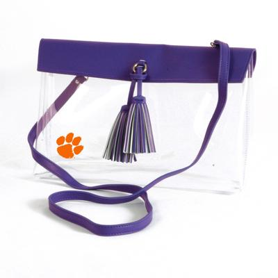 Clemson Game Day Clear Rara Purse