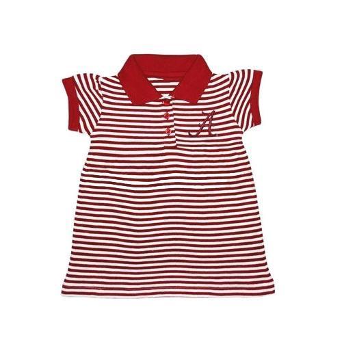 Alabama Infant Striped Polo Dress