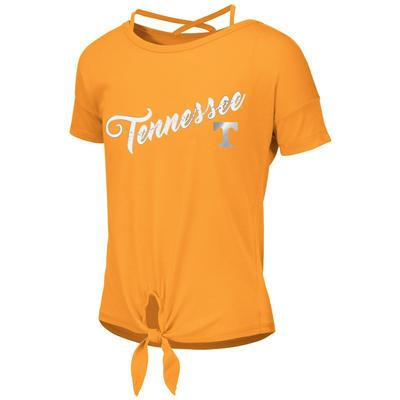 Tennessee Colosseum Youth Ballerina Tie Tee