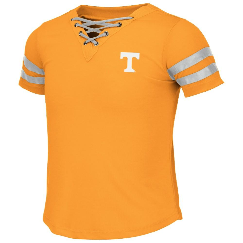 Tennessee Colosseum Youth Girls Lace Up Tee