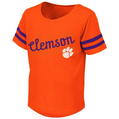 Clemson Colosseum Toddler Girls Hamburg Tee