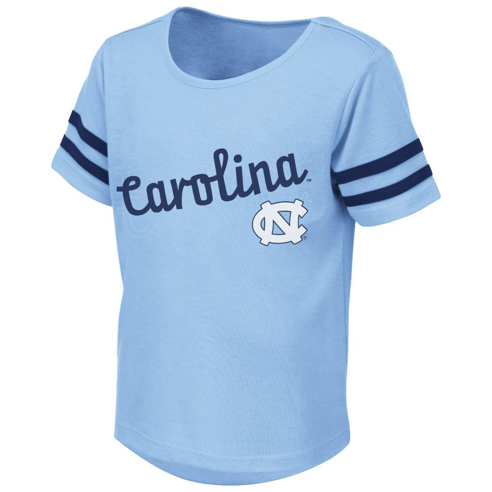Unc Colosseum Toddler Girls Hamburg Tee