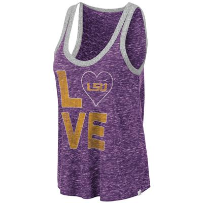 LSU Colosseum Women's Marsala Muscle Tank