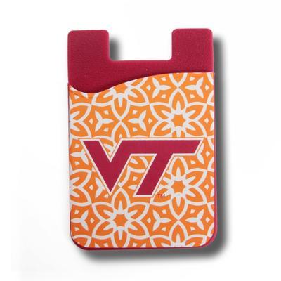 Virginia Tech Pattern Cell Phone Wallet