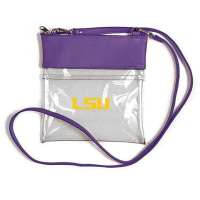 LSU Clear Game Day Crossbody