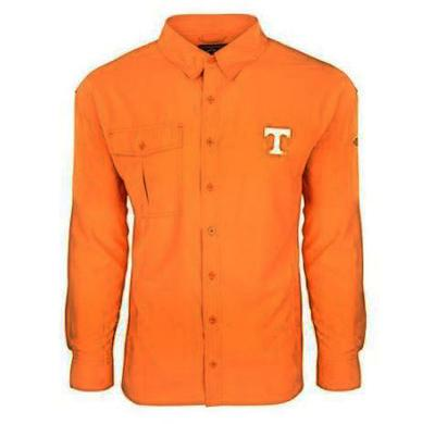 Tennessee Drake Flyweight Long Sleeve Button Down Shirt