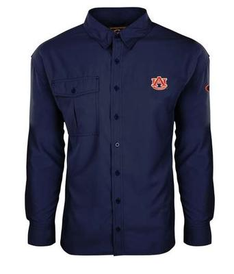 Auburn Drake Flyweight Long Sleeve Button Down Shirt