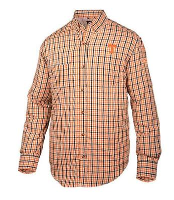 Tennessee Drake Gingham Plaid Wingshooter's Long Sleeve Shirt