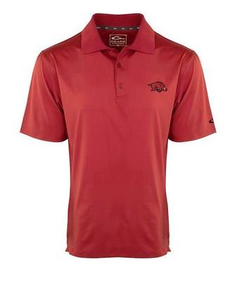 Arkansas Drake Performance Stretch Polo