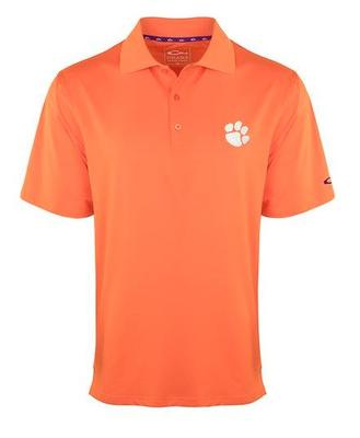 Clemson Drake Performance Stretch Polo