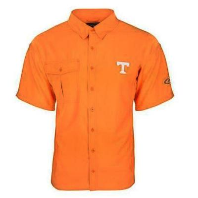 Tennessee Drake Flyweight Short Sleeve Button Down Shirt