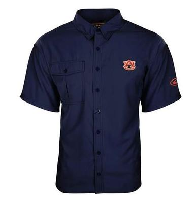 Auburn Drake Flyweight Short Sleeve Button Down Shirt