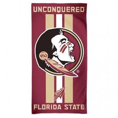 Florida State Beach Towel (30