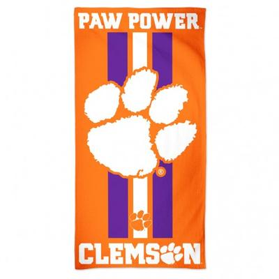 Clemson Beach Towel (30