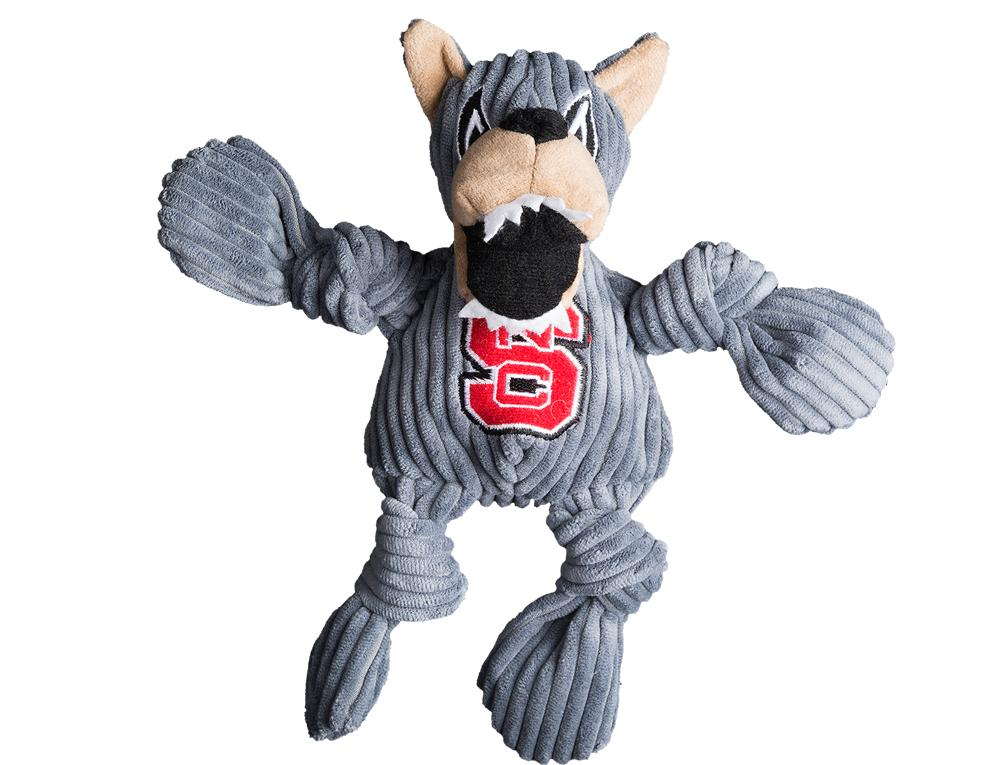 Nc State Mr.Wuf Small Plush Knottie Dog Toy