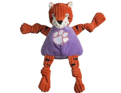 Clemson Tiger Large Plush Knottie Dog Toy