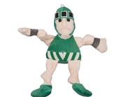 Michigan State Sparty Small Plush Knottie Dog Toy