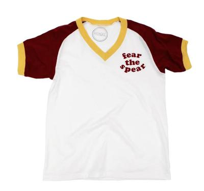 Garnet and Gold Kickoff Couture Women's Farrah Tee