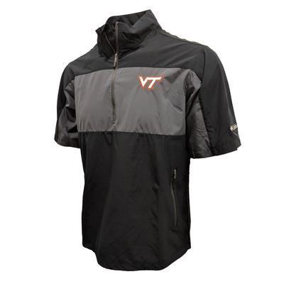 Virginia Tech Columbia Golf Early Riser S/S 1/4 Zip
