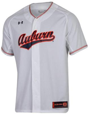 Auburn Under Armour Script Baseball Jersey