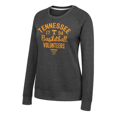 Tennessee Women's Heritage Crew Triblend Fleece Crew