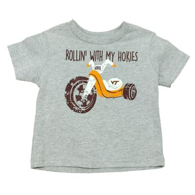 Virginia Tech Toddler Rollin' With My Hokies T-Shirt