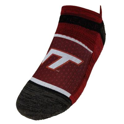 Virginia Tech Strideline No Show Socks