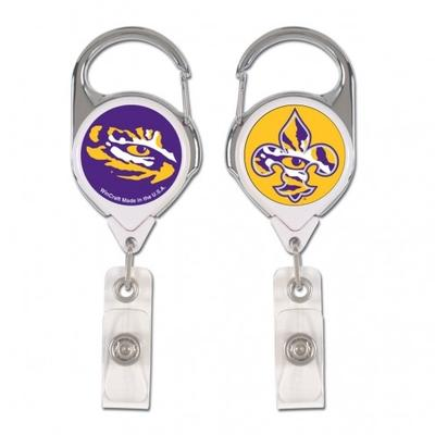 LSU Premium Badge Reel