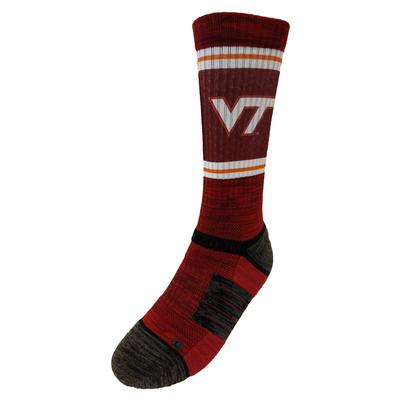 Virginia Tech Strideline Crew Socks