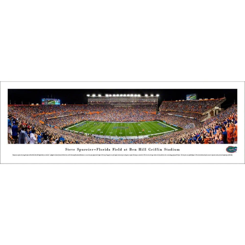 Steve Spurrier- Florida Field At Ben Hill Griffin Stadium Print