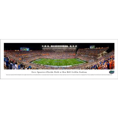Steve Spurrier-Florida Field at Ben Hill Griffin Stadium Print