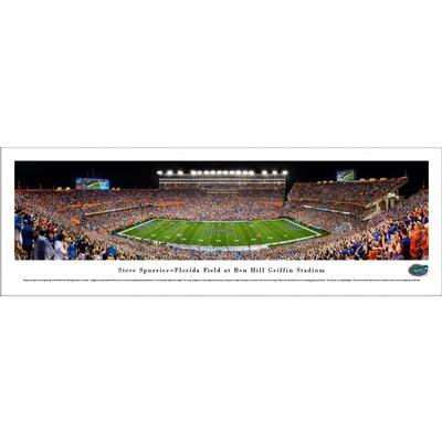 Steve Spurrier-Florida Field at Ben Hill Griffin Stadium Print