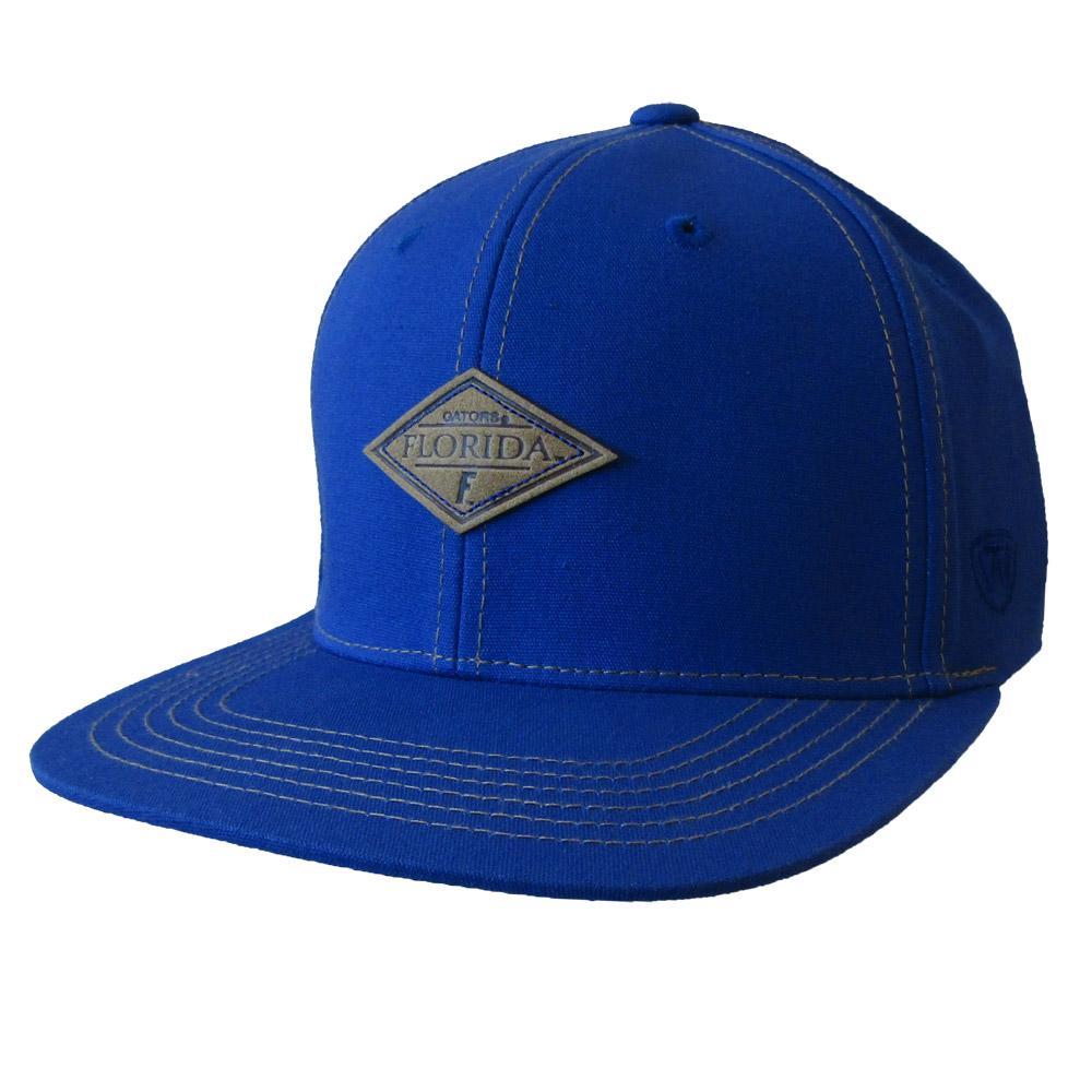 Florida Flatbrim Leather Label Adjustable Hat