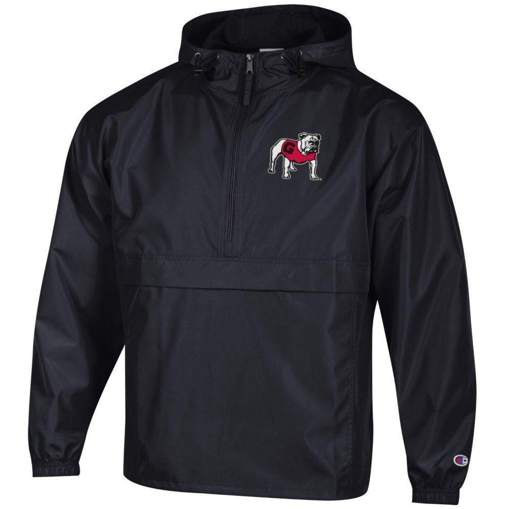Georgia Champion Unisex Pack And Go Jacket