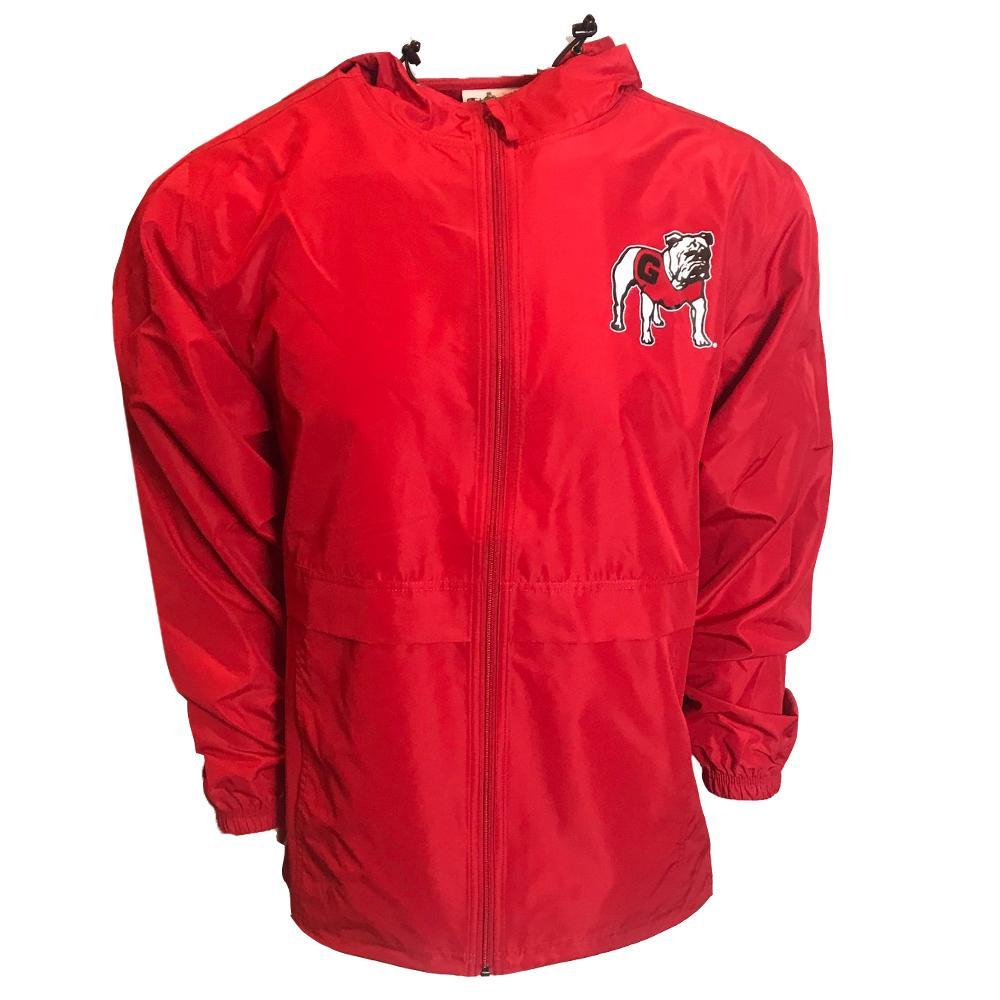 Georgia Champion Unisex Pack And Go Full Zip Jacket