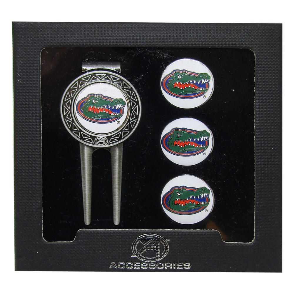 Florida Gators Ahead Golf Divot Tool & Ballmarker Set