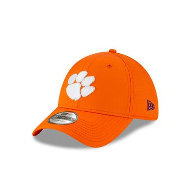Clemson New Era Performance Poly Fitted Hat