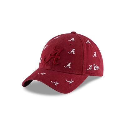 Alabama New Era Mini Logo Scatter Cap