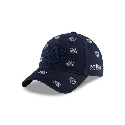 Auburn New Era Mini Logo Scatter Cap